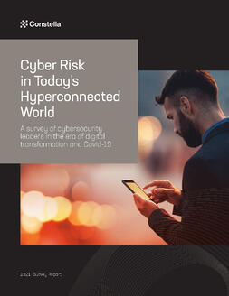 Cyber Risk in Today's Hyperconnected World survey report cover